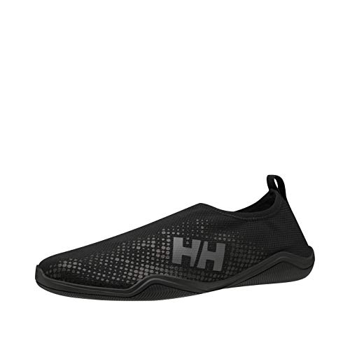 Helly Hansen Crest Watermoc, Zapatillas Impermeables Hombre, Negro (Black/Charcoal 990), 40 EU