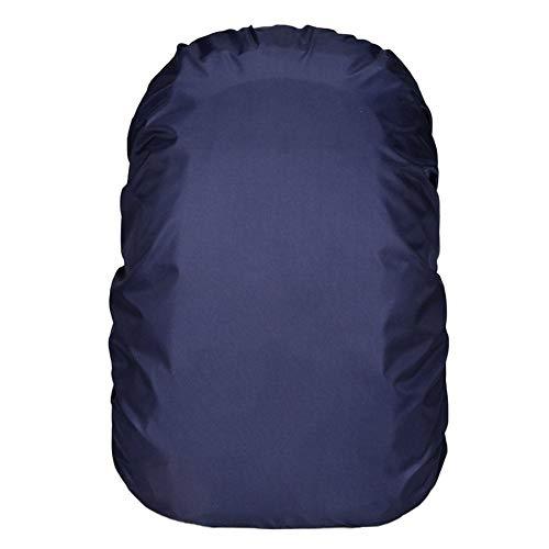 Minsa Zaino antipioggia impermeabile 15-100L copertura in nylon impermeabile rivestito argento per escursionismo, campeggio, viaggi, ciclismo, attività all'aperto, Blu (Blu) - V5B35BWEXK