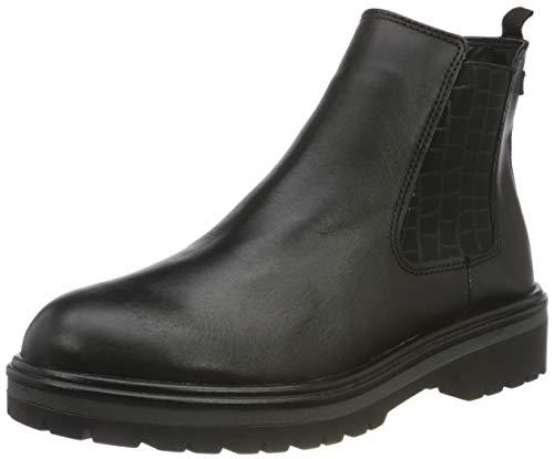Tamaris Damen 1-1-25412-25 Stiefelette, schwarz, 38 EU
