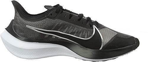Nike Zoom Gravity, Chaussures de Running Femme, Noir (Black/Metallic Silver-Wolf Grey-White 002),...