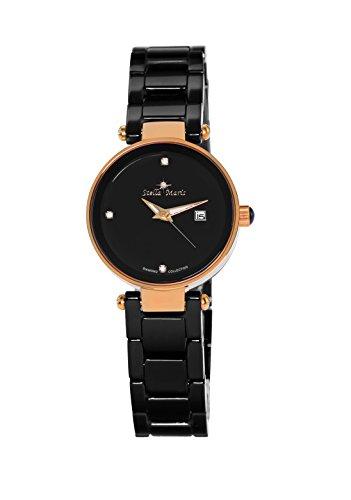 Stella Maris Damen Analog Quarz Uhr mit Keramik Armband STM17H10