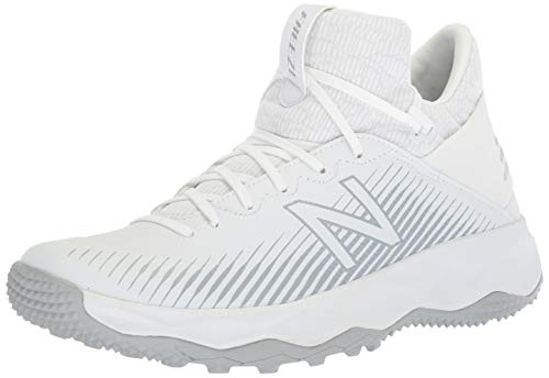 New Balance Herren FreezeLX 2.0 Turf Lacrosse Schuh, Wei (weiß), 45.5 EU