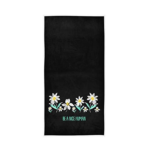 RURUTONG Paquete de 1 toalla de mano para cocina, natación, spa, gimnasio, decoración de 76 x 38 cm 2010233
