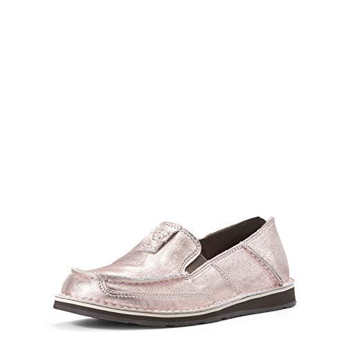ARIAT womens Cruiser flats shoes, Rose Gold, 5.5 US