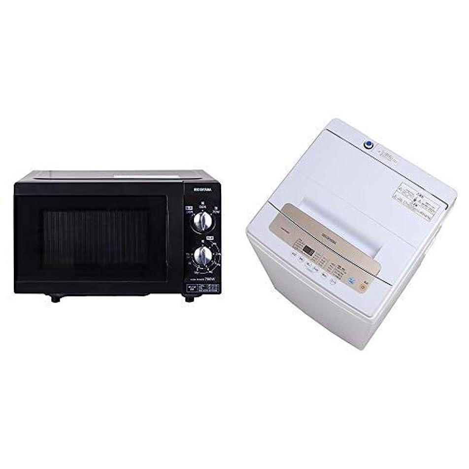 きらめき師匠パンフレット【セット販売】アイリスオーヤマ オーブンレンジ 16L ホワイト MO-T1603 MO-T1603 & 炊飯器 マイコン式 3合 銘柄炊き分け機能付き RC-MC30-B セット