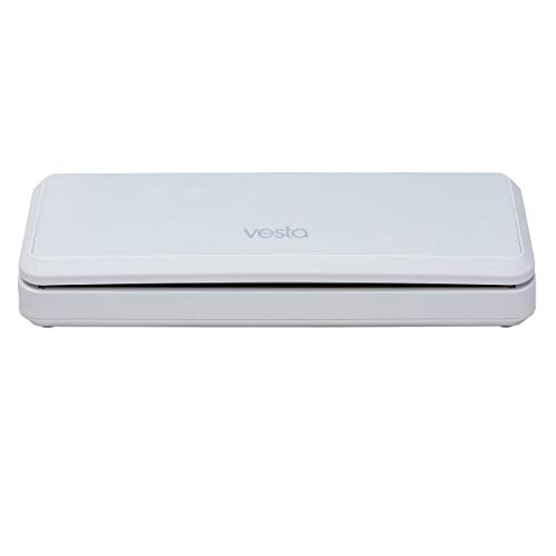 Vacuum Sealer by Vesta Precision - Vac 'n Seal | Extends Food Freshness | Perfect for Sous Vide Cooking | Dry and Moist Food Mode | Automatic and Manual Vacuum Mode