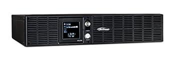 CyberPower OR2200LCDRT2U Smart App LCD UPS System 2200VA/1320W 8 Outlets AVR 2U Rack/Tower Black