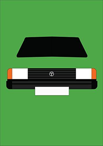 Talbot horizon- Retro Motor Company Grußkarte