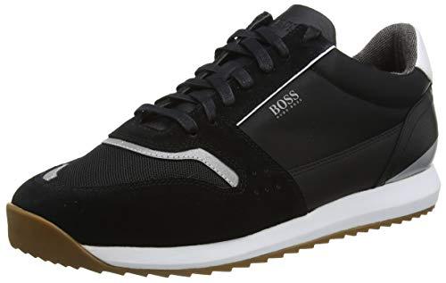BOSS Herren Sonic_Runn_ltmx Sneaker, Schwarz (Black 001), 39 EU