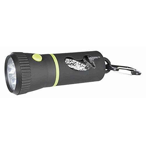 TRIXIE 22834 Lampe LED avec Distributeur de Sac et 1 Rouleau