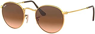 Ray-Ban, Metal Round Sunglasses, Men's, 7 Color Options, 53 mm