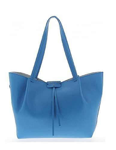 PATRIZIA PEPE shopping bag 2V8895A4U8NC859 blu 29,5/40 x 27 x 12 cm