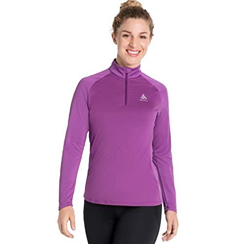 Odlo Damen Pullover Midlayer Ceramiwarm Element, Hyacinth Violet, S, 313241