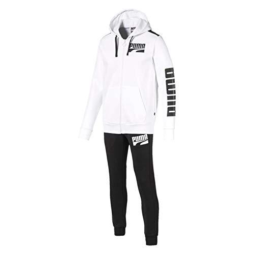 Puma 580491-02 - Chándal para hombre - Color blanco