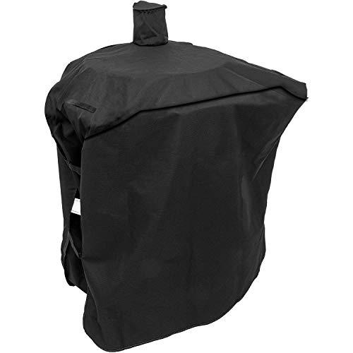 Grisun Grillabdeckung für Oklahoma Joe's Bronco Drum Smoker Abdeckung, robust und wasserdicht, Kohle Offset Cover, lichtecht UV-beständig, (114,3 cm L x 45,7 B 86,4 H)