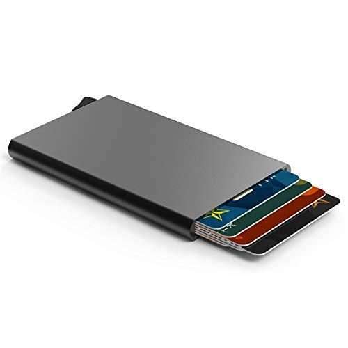 [ATLANTEE] Porte Carte De Crédit Rigide Et Sécurisé système Anti-piratage (RFID) sans Contact Cardprotector Un Portefeuille Idéale Et pour Toutes Les Bourses