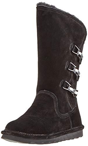 BEARPAW Women's Jenna Boot Black II Size 9 B(M) US