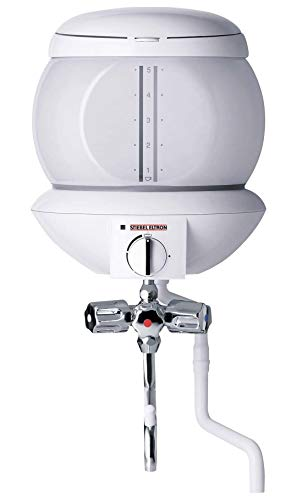 Stiebel Eltron Kochendwassergerät EBK 5 GA, Glas, 5 Liter, Dreigriff-Füll- und Ablaufarmatur,  74287