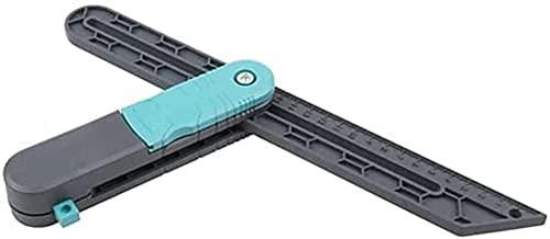 Dzhzuj Righello di misurazione, Strumento di misurazione dell'angolo di blocco, Righello per la lavorazione del legno e strumenti di marcatura pieghevole per la marcatura di linee parallele