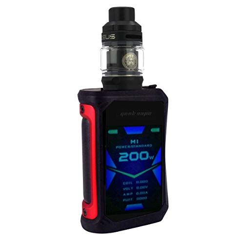 GeekVape Aegis X Kit 200 W, mit Z Sub Ohm Tank 3,5 ml/5 ml, Riccardo E-Zigarette, red/black
