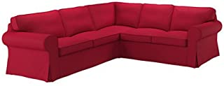 Ikea Cover for 4-seat corner sectional, Nordvalla red 1628.888.2610