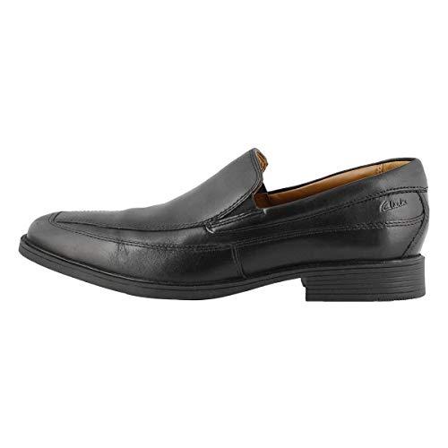 Clarks Men's Tilden Free, Black Leather, 8 M US