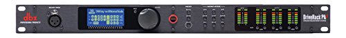 DBX driverack PA2-Prozessor-Lautsprecher mit RTA und Equalizer, 3.80 x 11.00 x 22.00 inches, Schwarz
