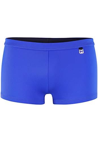 HOM - Herren - Swim Shorts 'Sunlight' - Hochwertige Badeshorts in Trendfarben - Electric Blue - XL