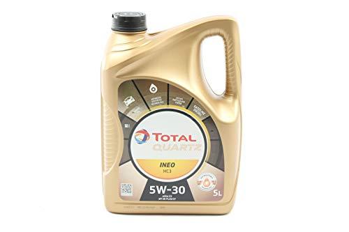 Total 3425901019505 Oil 5L QUARTZINEO MC3 5W30, Dorado, 5 l