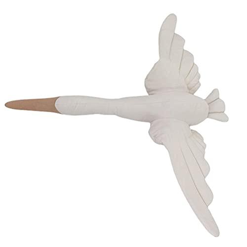 Lewpox Peluche Toy Swan, Wall Colgando Cisne de Peluche, Decoración de la Pared de la habitación de bebé, Muñeca Muñeco de Animales,Cojín de muñeca de Ganso Dulce Regalo para niños