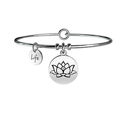 Fiore di loto Saggezza, Unica, Argento