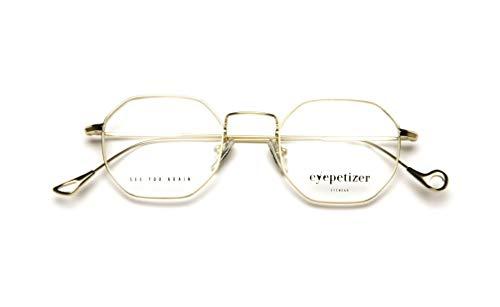 Eyepetizer Occhiali da vista Unisex modello IAN colore oro