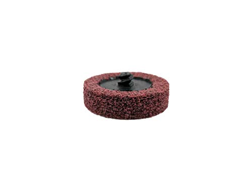 Sungold Abrasives 74920 Type R Quick Change Maroon A/O Fine Unitized Wheel Surface Prep Disc (20 Pack), 2