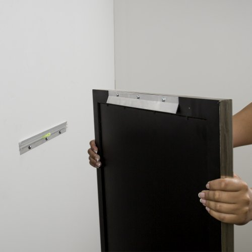Hangman Heavy-Duty Mirror and Picture Hanger with Walldog Anchorless Screws - Aluminum: HM-30D
