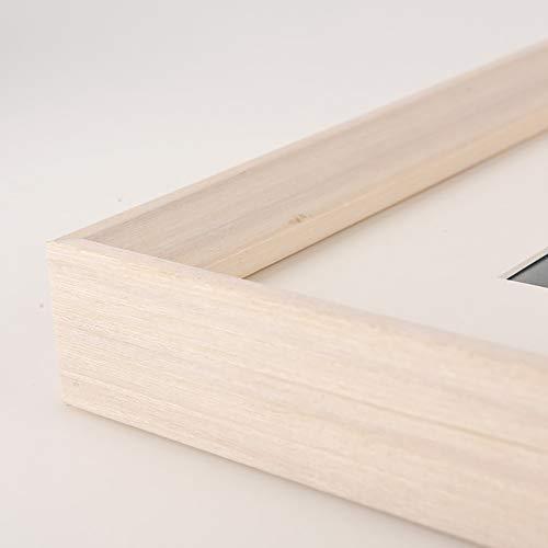 Amadon Puzzle-Rahmen Massivholz Foto Bild Poster Zertifikat Wandbehang Halter Puzzle-Rahmen, Puzzle-Zubehör Wohnkultur,D,12.13x14.88 inch/308x378mm