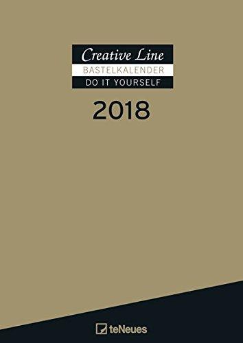 Bastelkalender gold 2018: Creative Line Bastelkalender