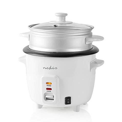 TronicXL 400 Watt 1 Liter Reiskocher mit Dampfgarer-Einsatz Multikocher elektro elektrisch Asia asiatisch kochen japanisch japan china chinesisch Reisbereiter kompakt antihaftbeschichtet