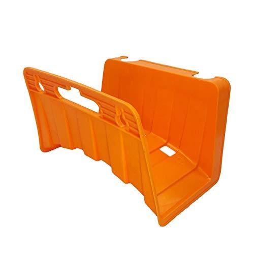 MINGMIN-DZ Dauerhaft 1PCS Garten Schlauchaufroller Halter-Speicher-Wandhalterung hängend Erweiterbare Magie Schlauch-Haken Rack-Reel (Color : Orange)