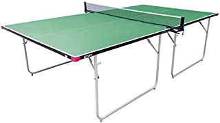 Butterfly Compact 16 Table Tennis Table with Net Set - Fully Assembled - 3 Year Warranty - Compact Storage