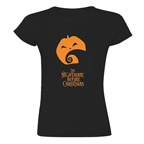 Unisex Mehrere Muster T-Shirts für Freundin Christmas Black m
