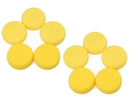 DS. DISTINCTIVE STYLE Painting Sponges 10 Pieces Round Sponges 3 Inches Artist Sponges for Watercolor or Crafts