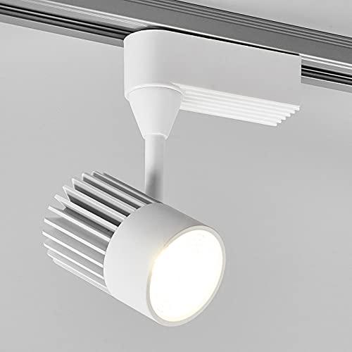 Lampada a binario 'Maksim' (Moderno) colore Bianco, in Alluminio ad es. Soggiorno & Sala da pranzo (1 luce, A+, lampadina inclusa) di Arcchio   binario monofase, faretti su binario