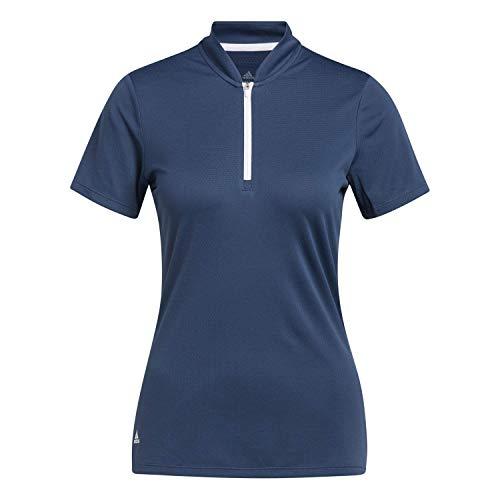 adidas Heat RDY Camisa de Golf, Navy, L para Mujer