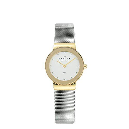 Skagen Women's Freja Quartz Analog Stainless Steel and Mesh...