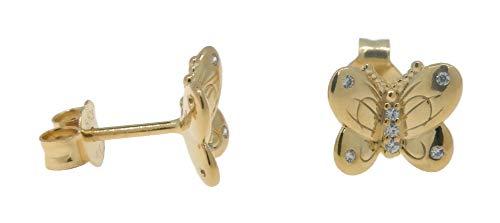 Pandora Pendientes de botón Mujer vermeil - 267921CZ