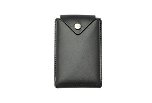 薄いカードケース abrAsus(アブラサス) ブッテーロレザーエディション ブラック