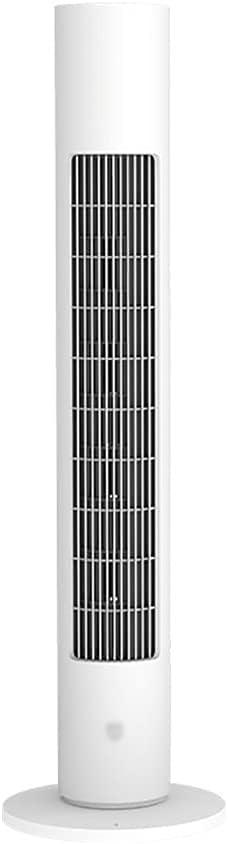 El nuevo Control de soporte de soporte Aplicación de oscilación automática Control de 8 horas Temporizador de aire purificación de aire tranquilo Fan de piso sin sentido para el hogar, oficina Cómodo