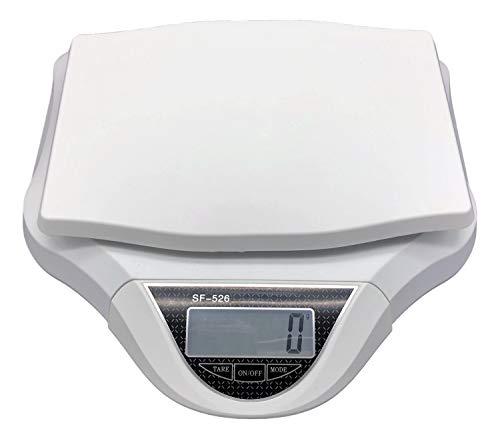 隔測式デジタル台はかり YRO 1g〜30�sまで計測 風袋機能 オートパワーオフ 家庭用 調理用 (白)