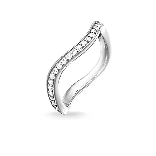 Thomas Sabo Women Eternity Ring Eternity Ring 925 Sterling Silver TR2010-051-14