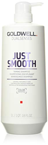 Goldwell Dualsenses Just Smooth Taming Shampoo, 1er Pack (1 x 1 l)